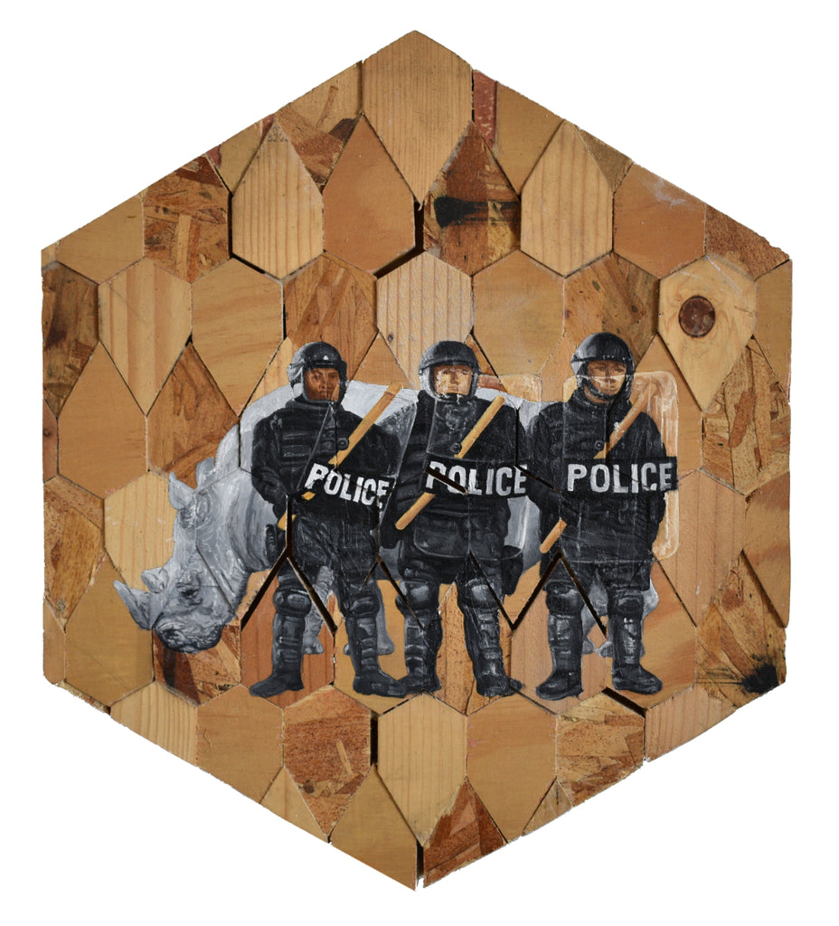 "Peter Adamyan - ""Private Security"" - Spoke Art"