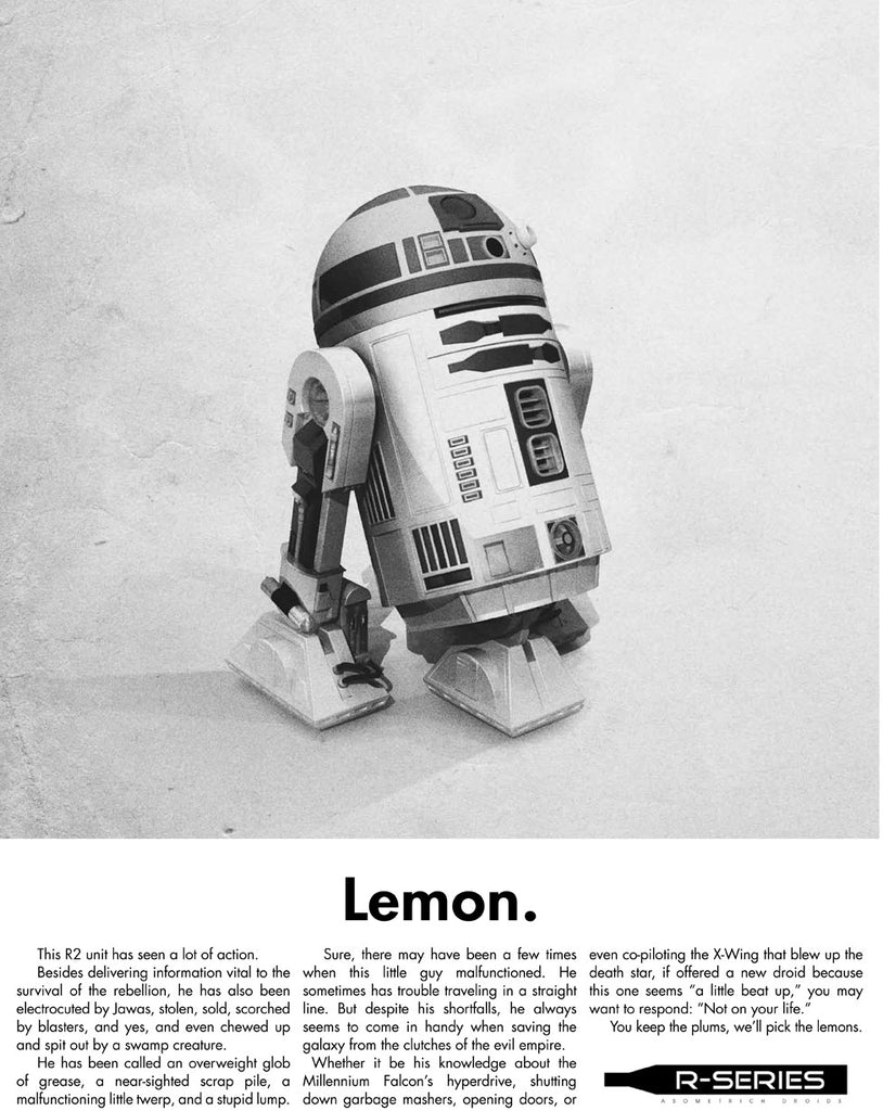"Justin Van Genderen - ""Lemon - R2 Unit"" - Spoke Art"
