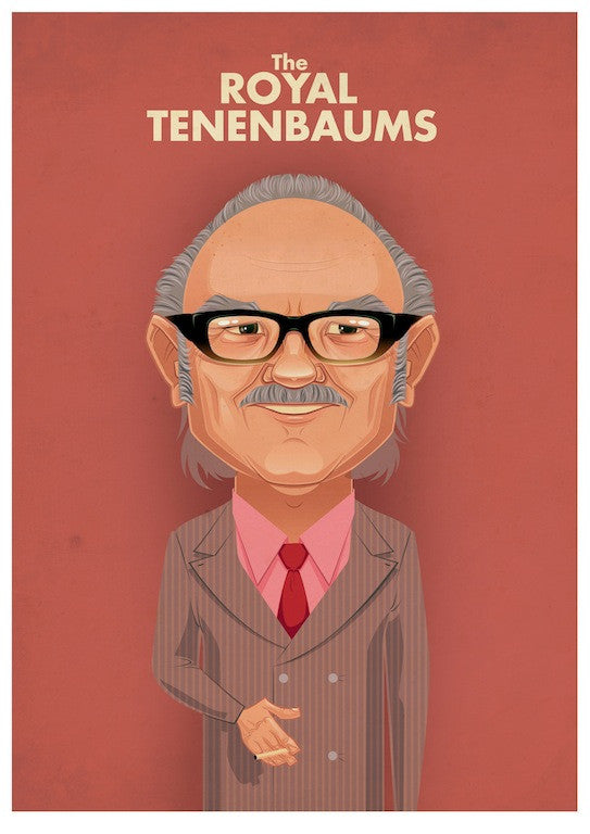 "James Gilleard - ""The Royal Tenenbaums"""