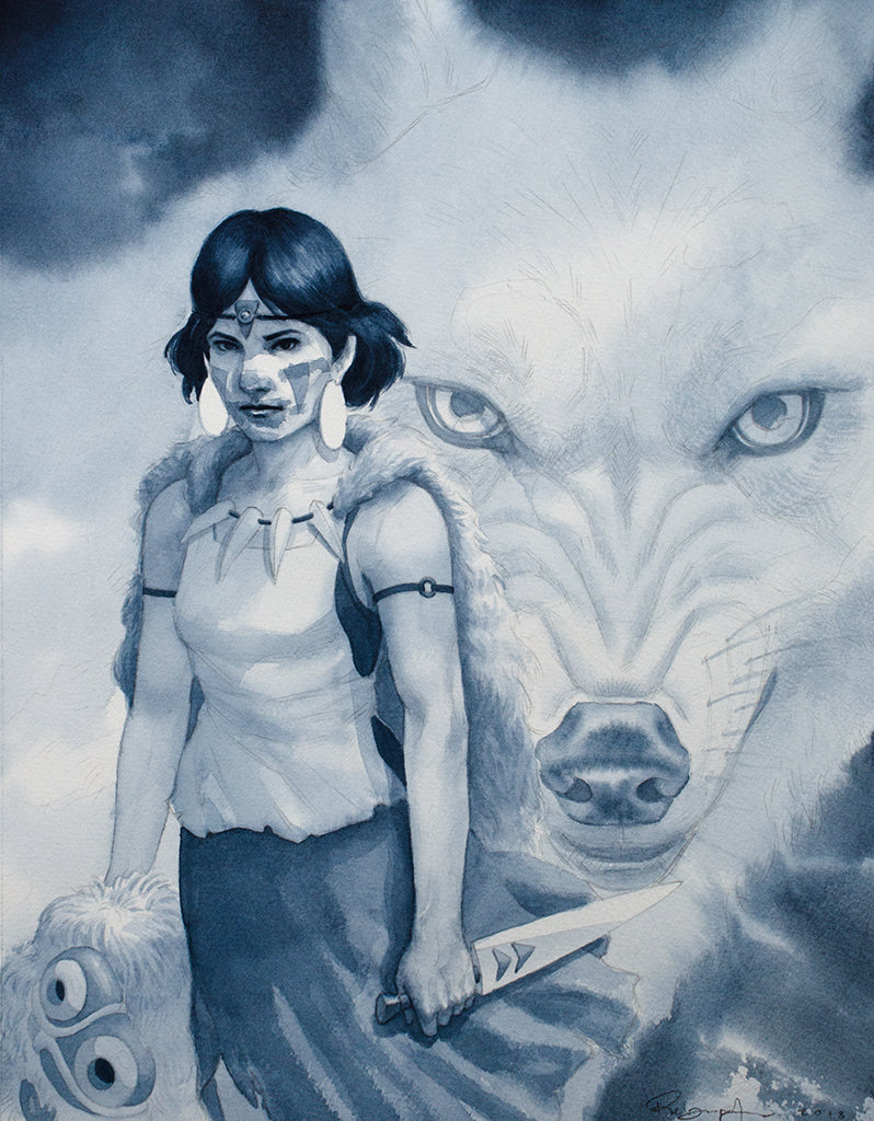 "Reuben Negron - ""The Wolf Girl"" - Spoke Art"