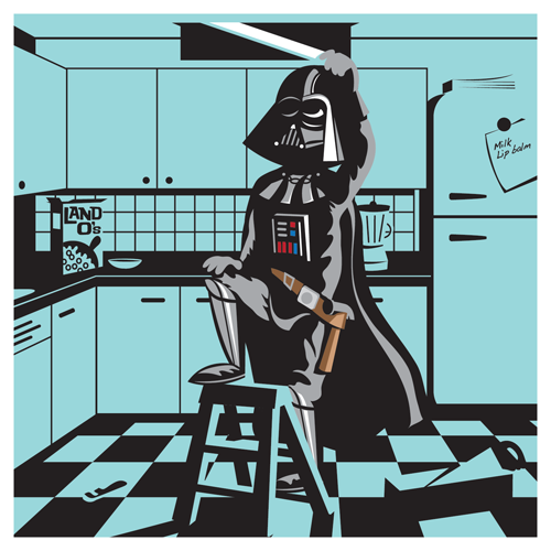 "Ridge Rooms - ""Off Duty Darth"""