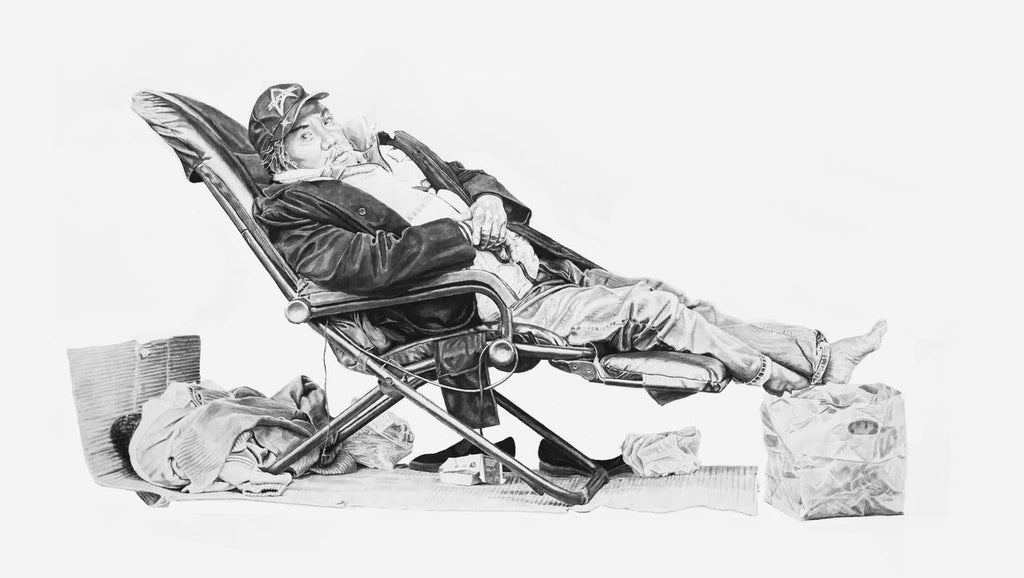 "Joel Daniel Phillips - ""Robert in a Chair"" - Spoke Art"