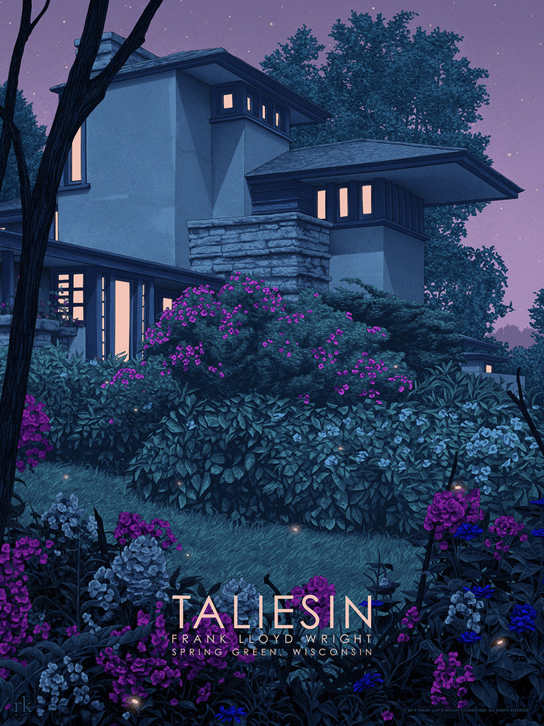 "Rory Kurtz - ""Taliesin East"" - Spoke Art"