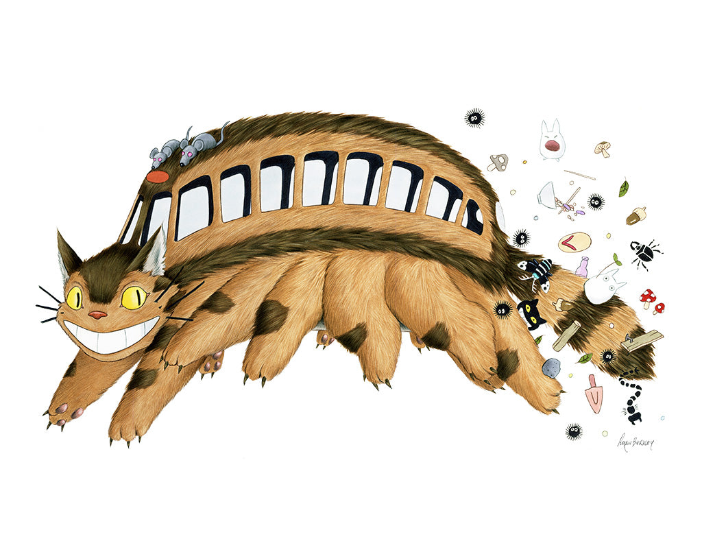 "Ryan Berkley - ""Catbus"" - Spoke Art"