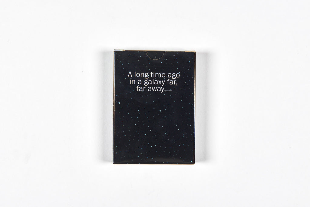"Max Dalton - ""A Galaxy Far, Far Away Playing Cards"" - Spoke Art"