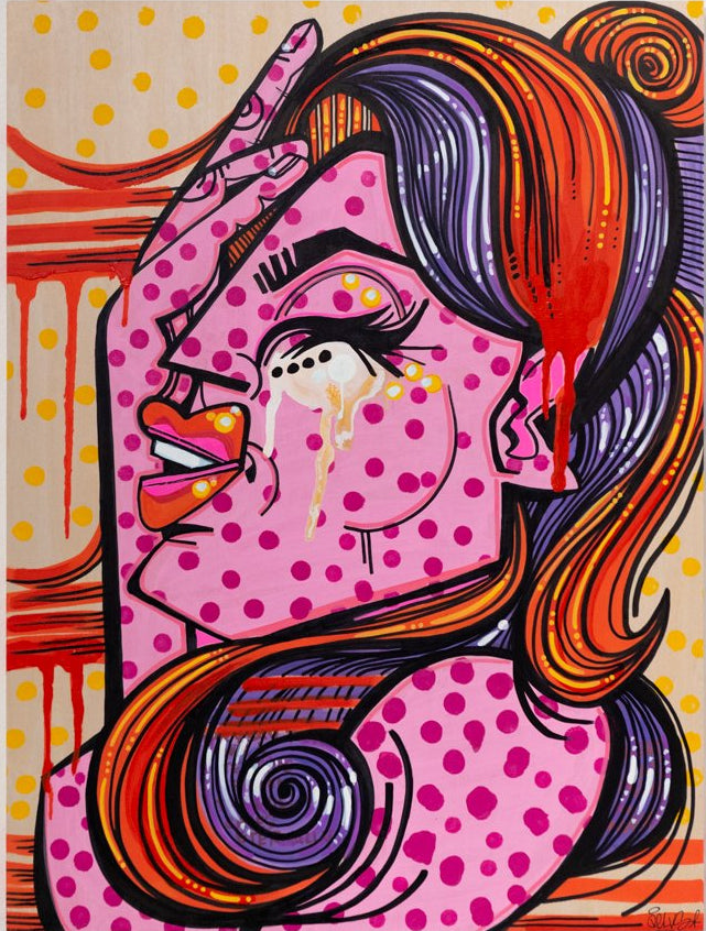 DELVS - Untitled (pink) - Spoke Art