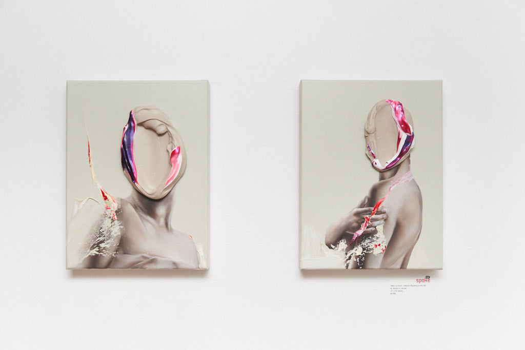 "Fabio La Fauci - ""Diptych Migrating to the US"" - Spoke Art"