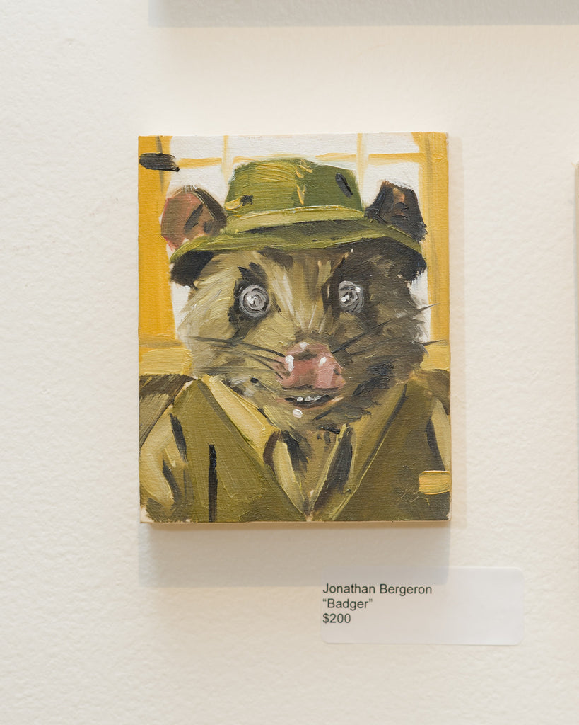 "Jonathan Bergeron - ""Badger"" - Spoke Art"