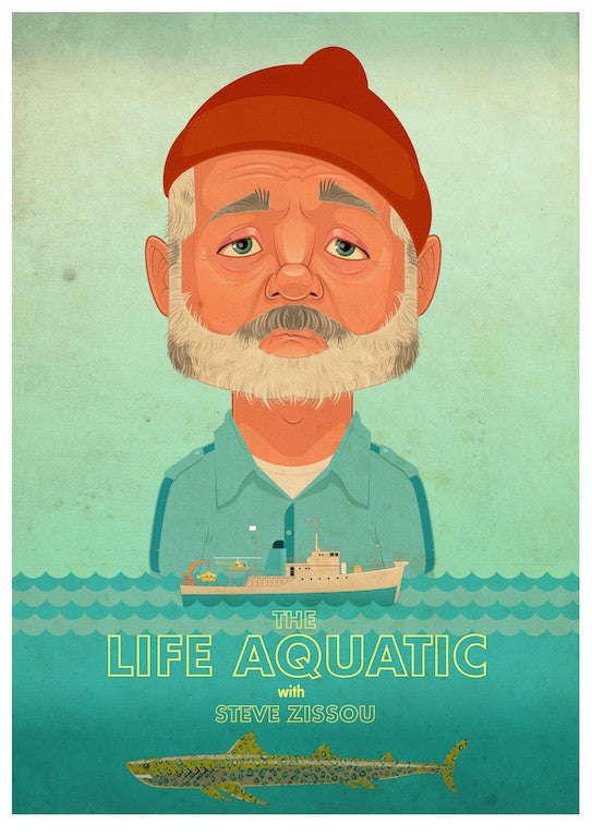 "James Gilleard - ""The Life Aquatic"""