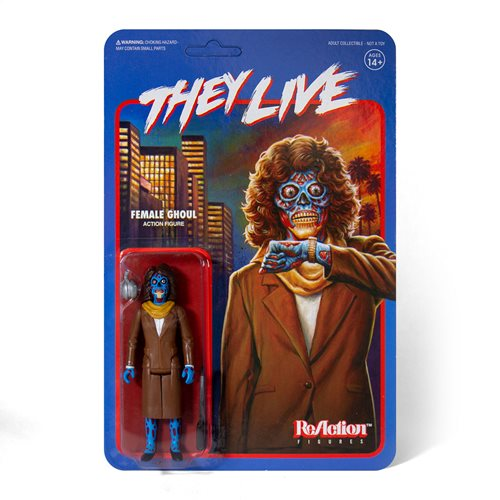 They Live - Female Ghoul Action Figure - Spoke Art