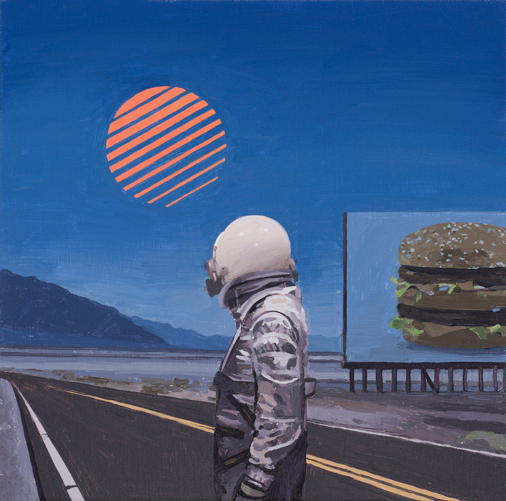 "Scott Listfield - ""Night Burger"" - Spoke Art"