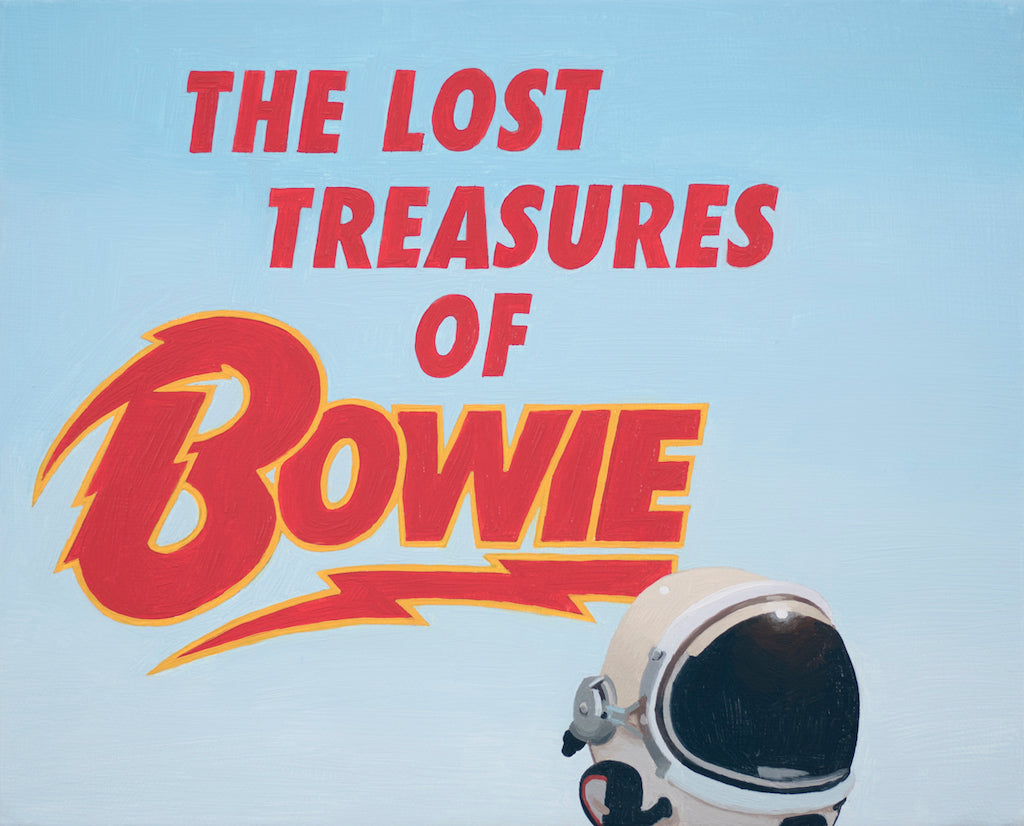 "Scott Listfield - ""The Lost Treasures of Bowie"" - Spoke Art"