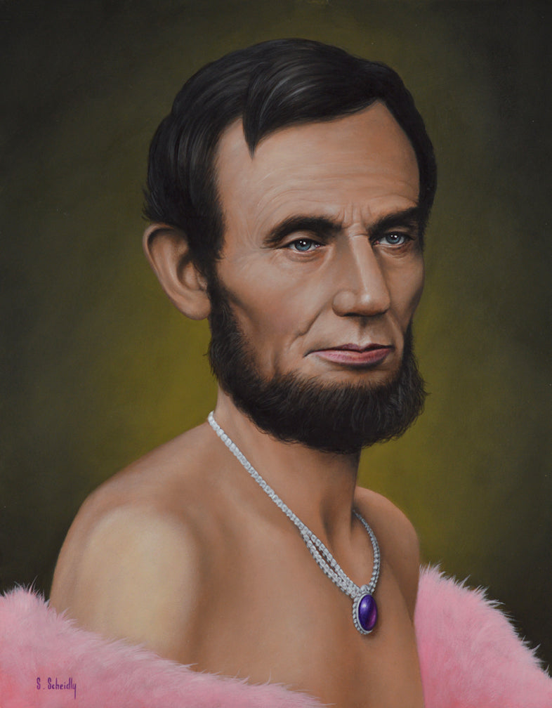 "Scott Scheidly - ""Abe Lincoln"""
