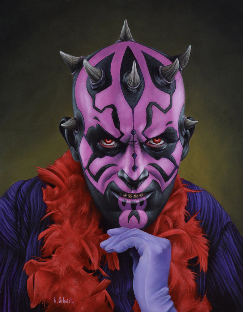 "Scott Scheidly - ""Darth Maul"""