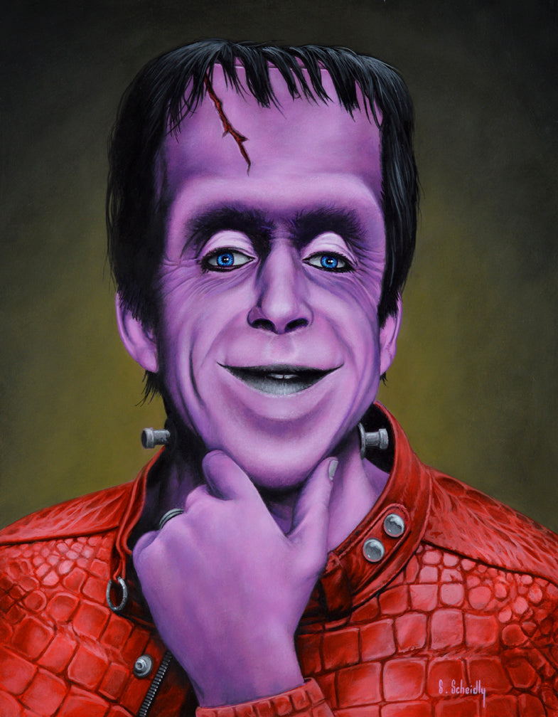 "Scott Scheidly - ""Herman Munster"""