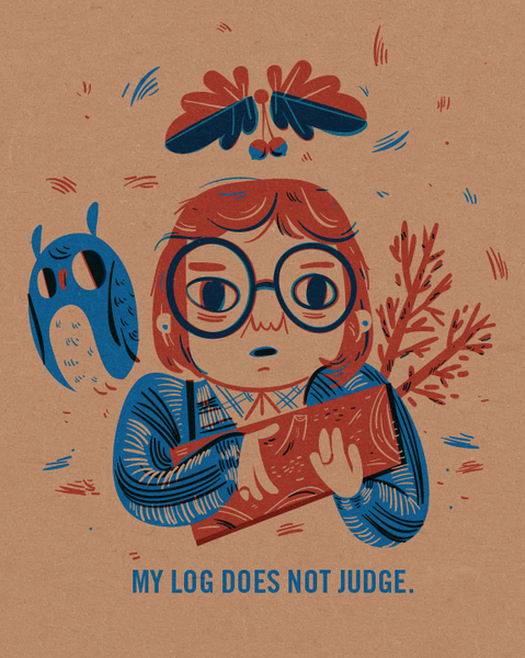 "Lauren Gregg - ""Log Lady"""