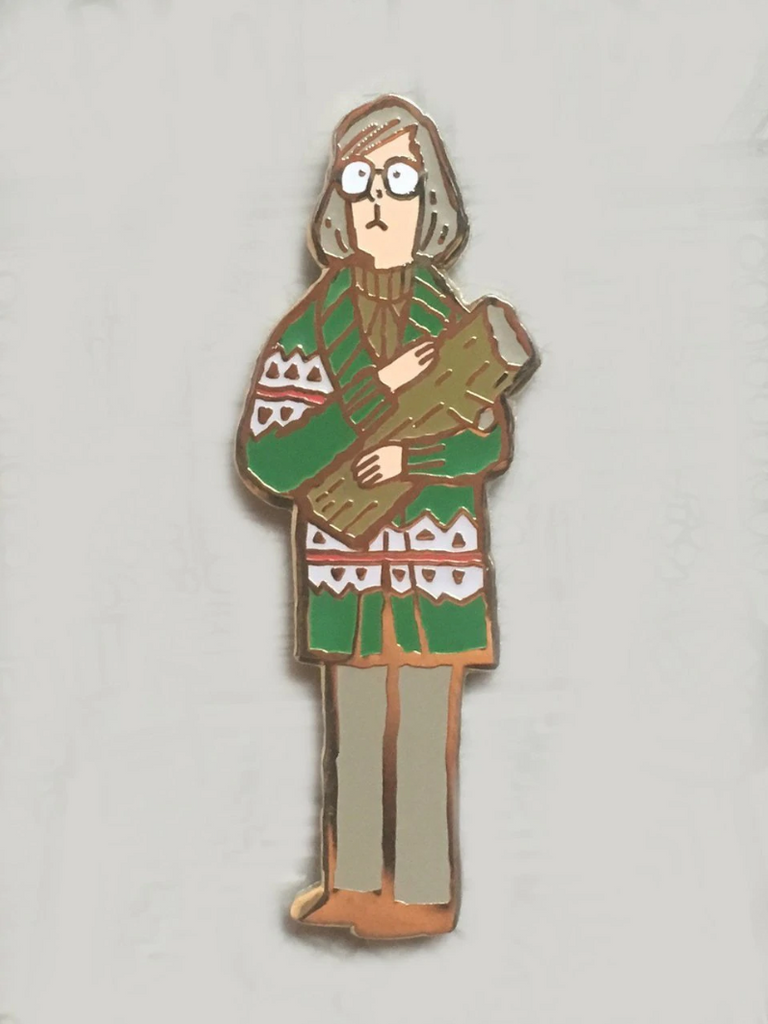 Log Lady Pin - Spoke Art