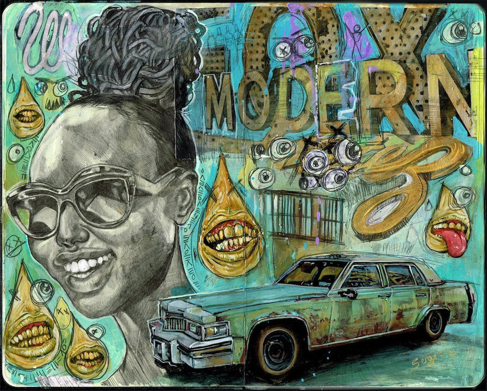 "Serge Gay Jr - ""Modern Hookup"" - Spoke Art"