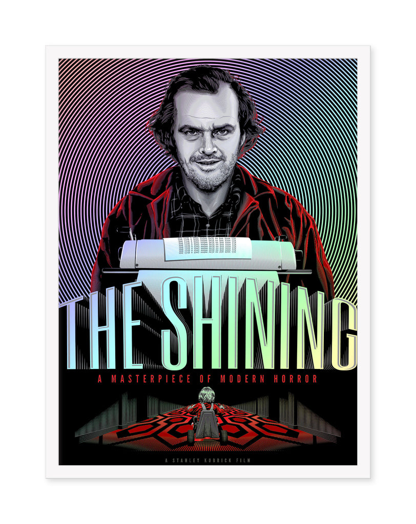 "Tracie Ching - ""The Shining"" Foil Variant - Spoke Art"