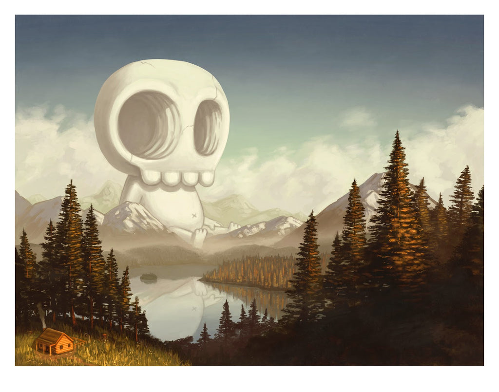 "Mike Mitchell - ""Late September, 1843"" - Spoke Art"