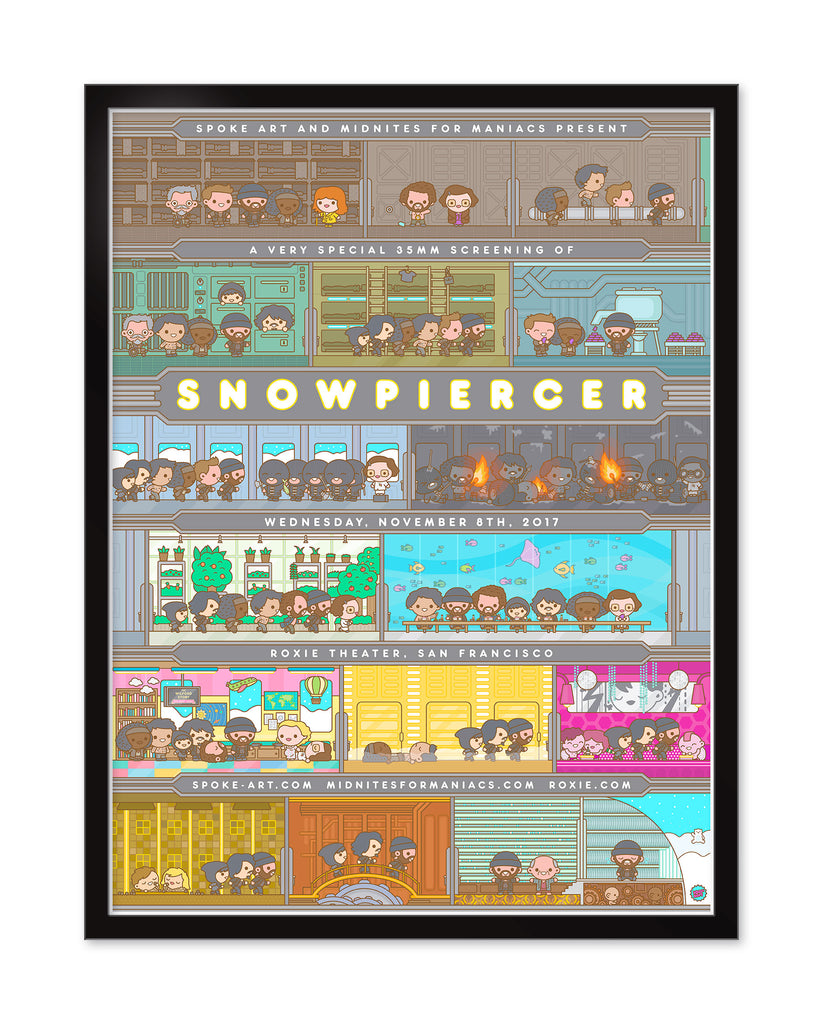"100% Soft - ""Snowpiercer"" - Spoke Art"