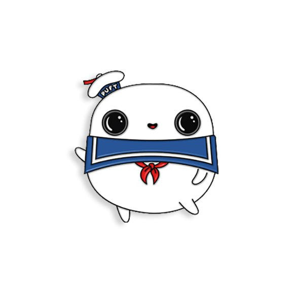 Stay Puft Enamel Pin by Tomi Monstre - Spoke Art