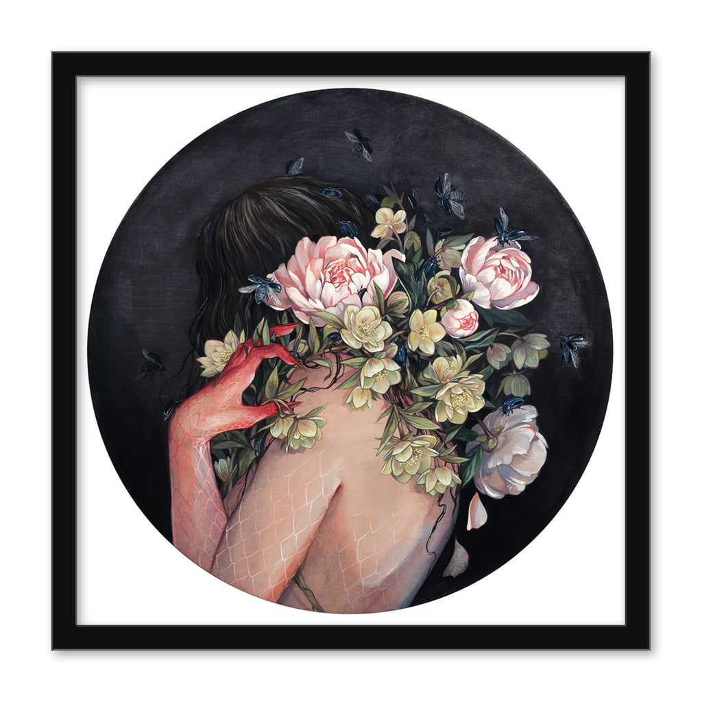"Stephanie Brown - ""Nymph (Hellebore)"" print"