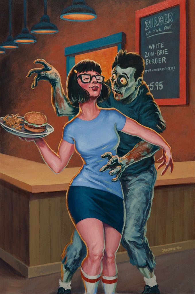 "Stephen Andrade - ""Erotic Zombie Friend Fiction"""