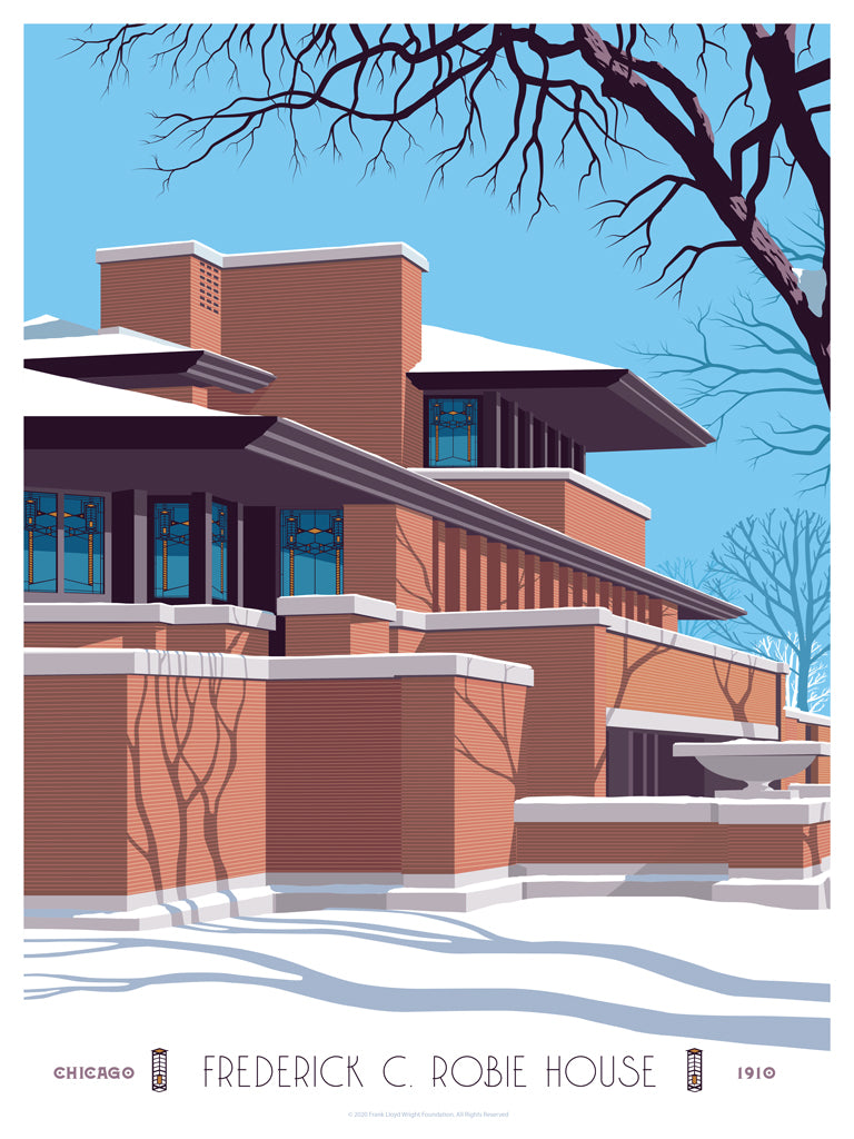 "Steve Thomas - ""Robie House"" - Spoke Art"