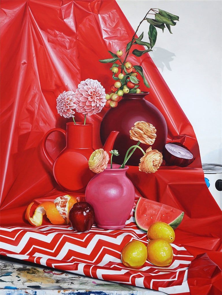 "David Rice - ""Still Life in Red"" - Spoke Art"