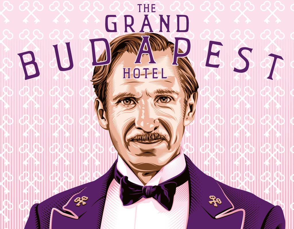 "Tracie Ching - ""The Grand Budapest Hotel"" - Spoke Art"