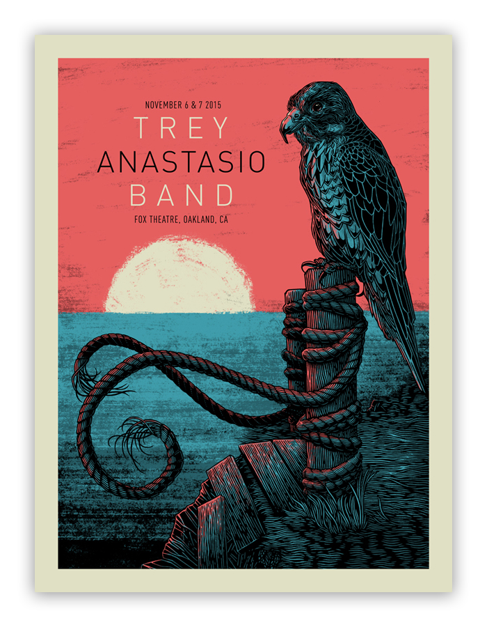 Bungaloo - Trey Anastasio Band - Spoke Art