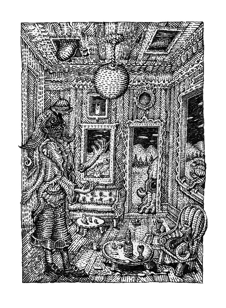 "David Welker - ""Tea at Aunt Susie's House"""