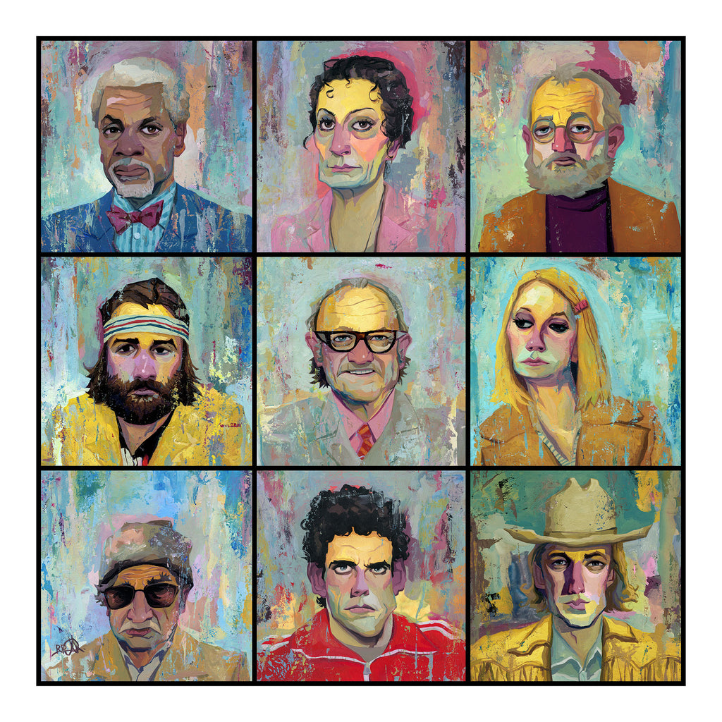 the royal tenenbaums by rich pellegrino