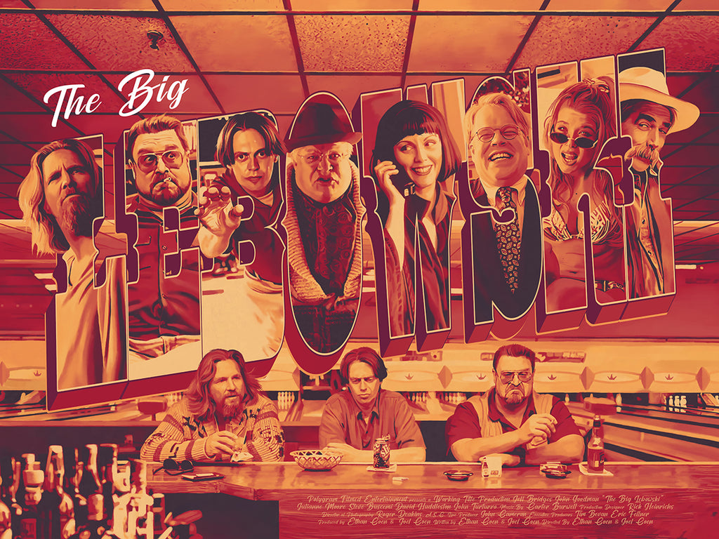 "Dakota Randall - ""The Big Lebowski"" - Spoke Art"