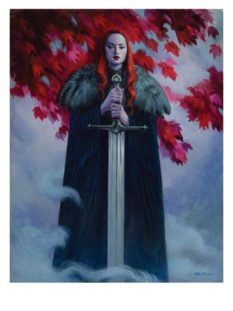 "Mia Araujo - ""The North Remembers"" (print)"