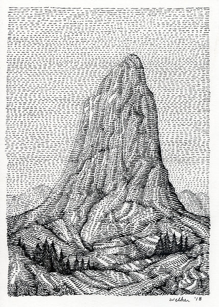 "David Welker - ""The Butte"""