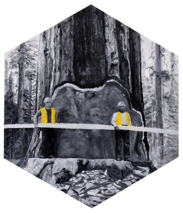 "Peter Adamyan - ""The Lumberjacks"" - Spoke Art"