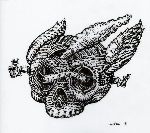 "David Welker - ""The Maze Skull"""