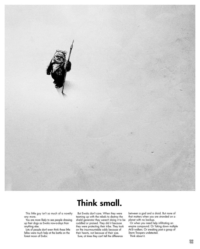 "Justin Van Genderen - ""Think Small"""