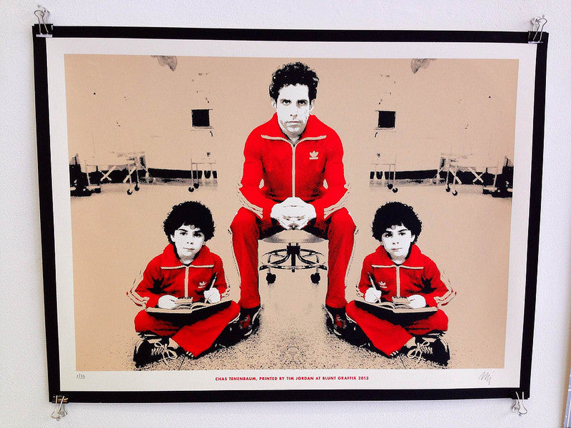 "Tim Jordan - ""Chas Tenenbaum"" - Spoke Art"