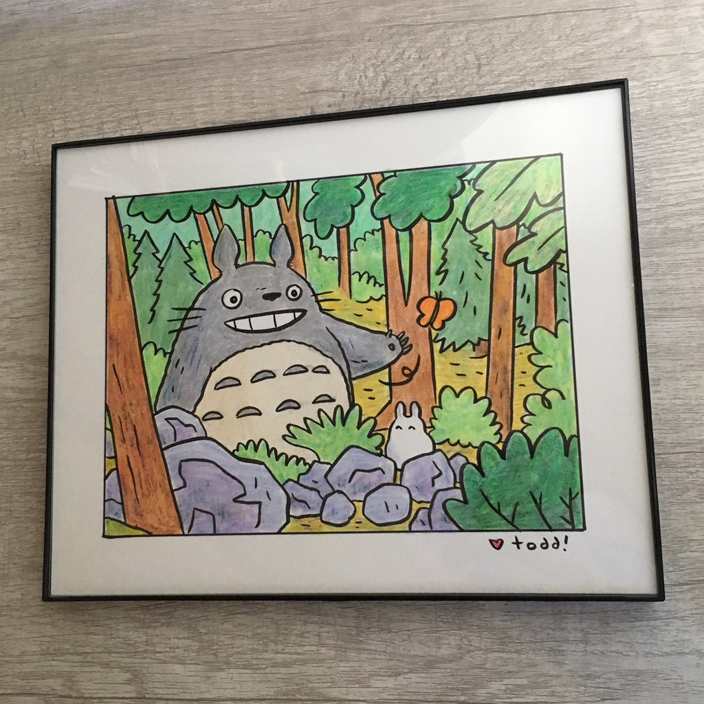 "Toddbot (Todd Webb) - ""Totoro in the forest"""