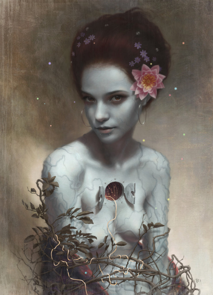 "Tom Bagshaw - ""Neve"" - Spoke Art"