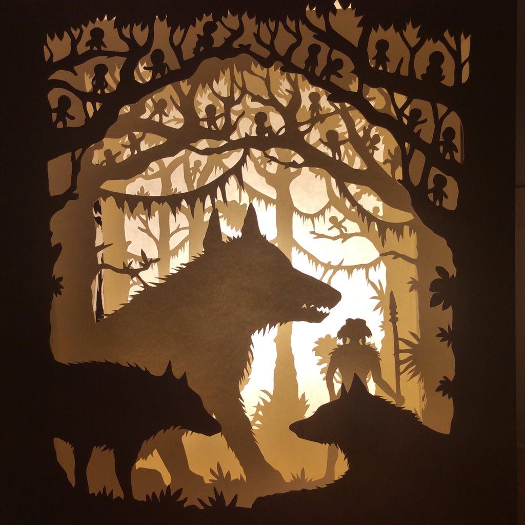 "Tom Eglington - ""Mononoke Forest"" - Spoke Art"