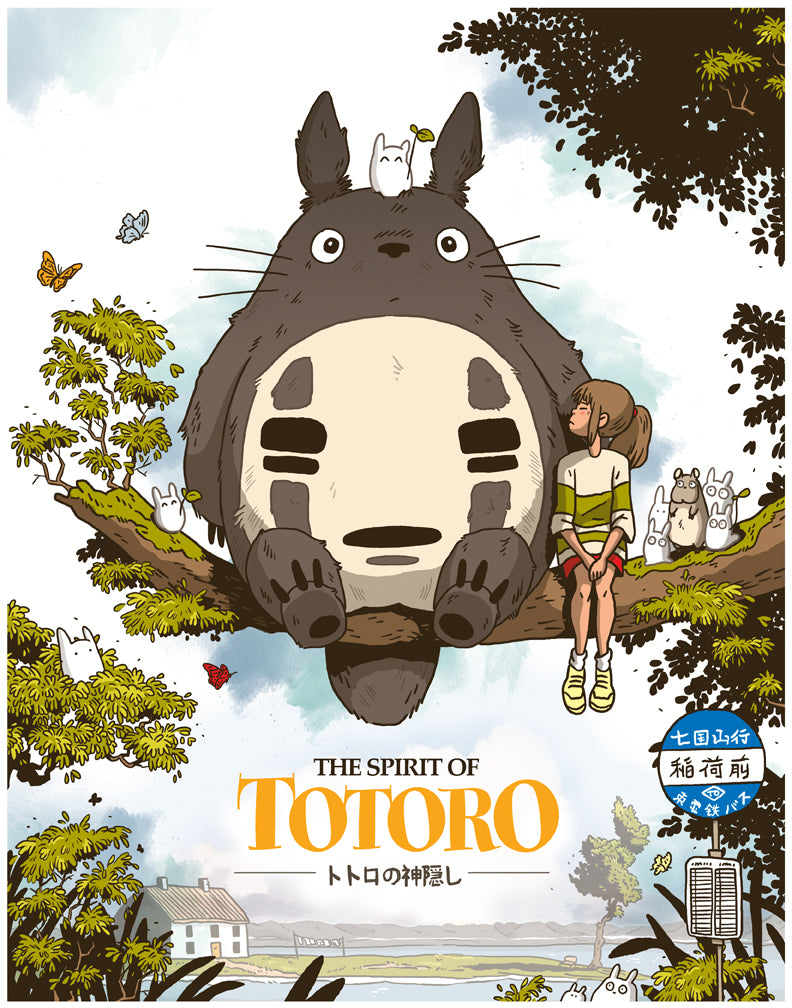 "Nick Stokes - ""The Spirit of Totoro"" - Spoke Art"