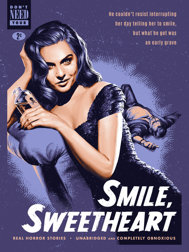 "Tracie Ching - ""Smile, Sweetheart"" Print - Spoke Art"