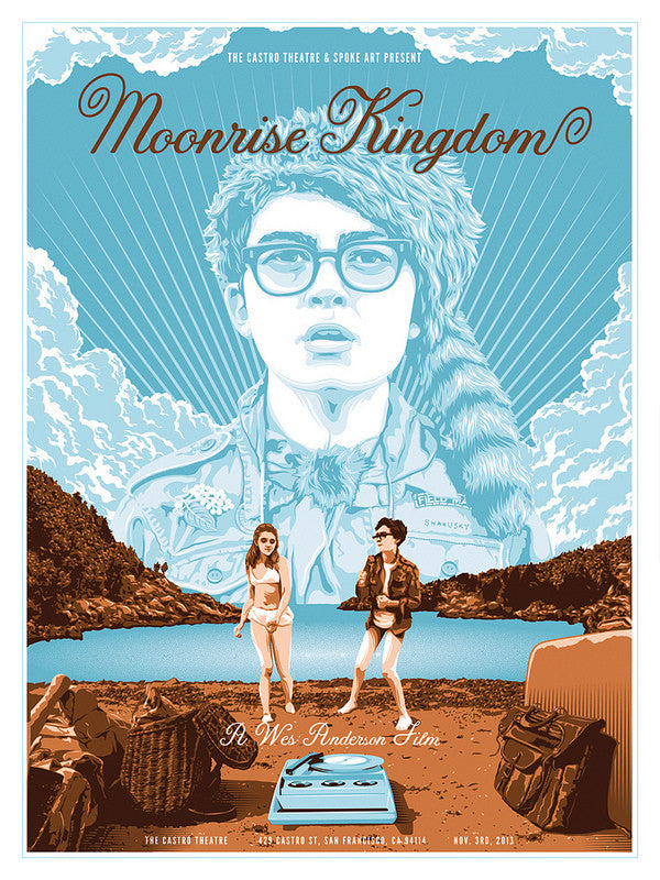 "Tracie Ching - ""Moonrise Kingdom"" - Spoke Art"