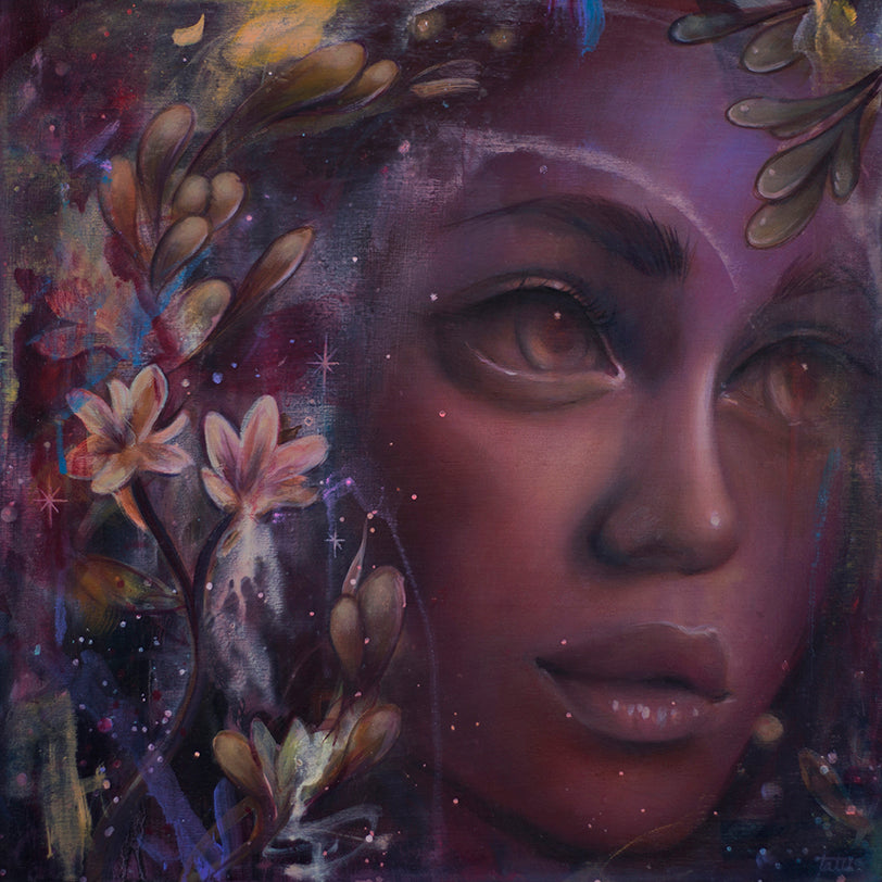 "Tatiana Suarez - ""Tuberose"" - Spoke Art"