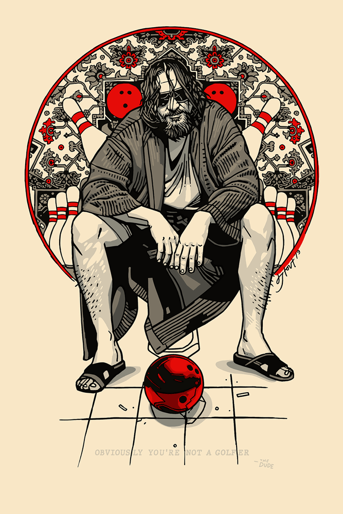 "Tyler Stout - ""Dude, Obviously"" - Spoke Art"