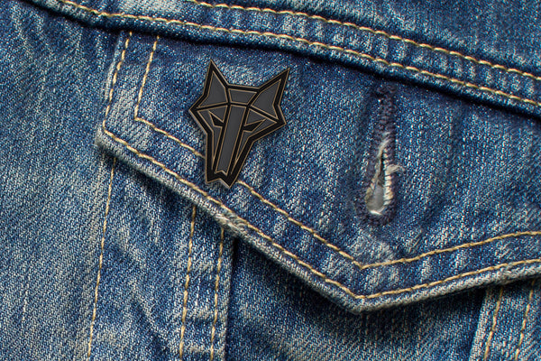 House Mars Sigil Embossed Metal Pin